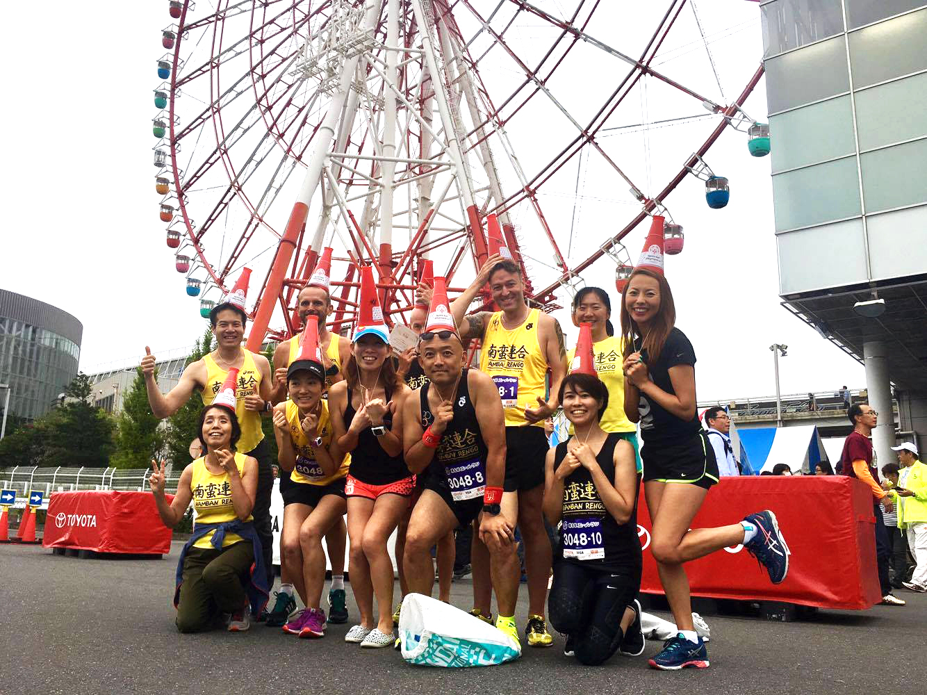 Special Olympics Charity Ekiden in Odaiba / 第6回エールラン, Saturday 1st October 2016